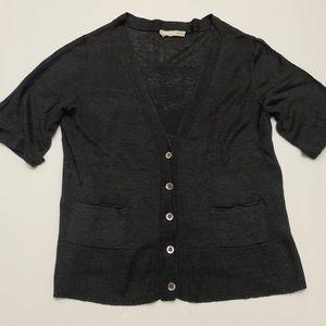 Eileen Fisher short sleeve cardigan